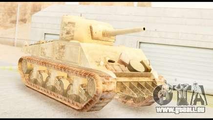 M4 Sherman 75mm Gun Desert pour GTA San Andreas
