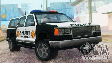 Police 4-door Yosemite pour GTA San Andreas