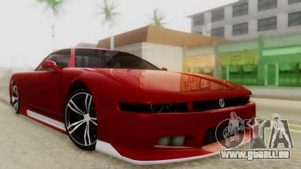Infernus BMW Revolution with Plate pour GTA San Andreas