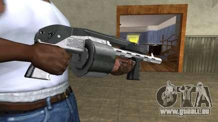 Silver Granate Combat Shotgun für GTA San Andreas