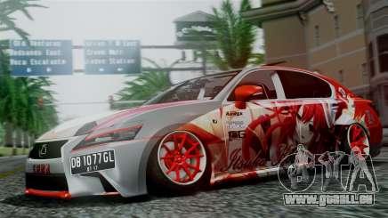 Lexus GS350 Stance Itsuka Kotori für GTA San Andreas