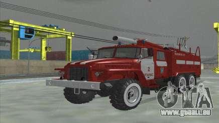 Ural 375 Feuerwehrmann für GTA San Andreas