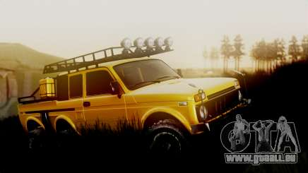 VAZ Niva 2121 6x6 pour GTA San Andreas