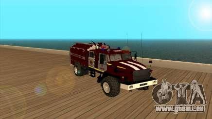 Oural 5557-40 le Ministère des situations d'urgence de l'Ukraine pour GTA San Andreas
