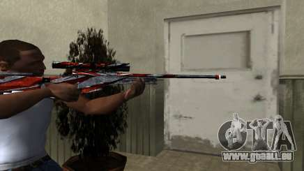 Red Flag Sniper Rifle pour GTA San Andreas