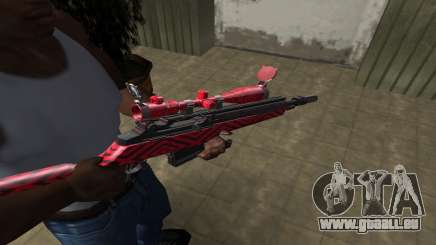 Red Romb Sniper Rifle pour GTA San Andreas