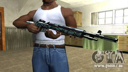 Green Forest Rifle pour GTA San Andreas