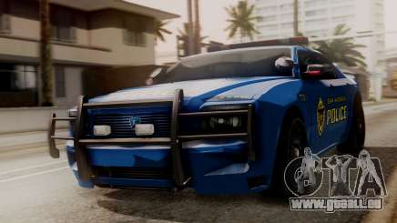 Hunter Citizen SAPD IVF pour GTA San Andreas