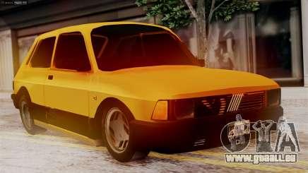 Fiat 147 Al Piso für GTA San Andreas