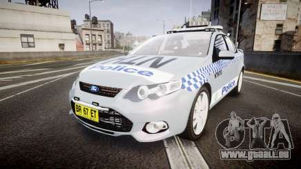Ford Falcon FG XR6 Turbo Police [ELS] pour GTA 4