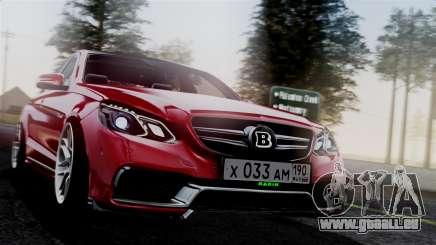 Mercedes-Benz W212 E63 AMG pour GTA San Andreas