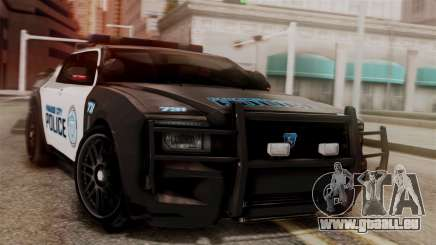 Hunter Citizen from Burnout Paradise v1 pour GTA San Andreas
