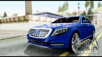 Mercedes-Benz S-class W222 2014 pour GTA San Andreas