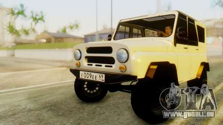 UAZ hunter für GTA San Andreas