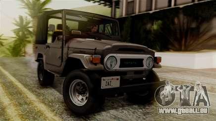 Toyota Land Cruiser J40 1980 pour GTA San Andreas