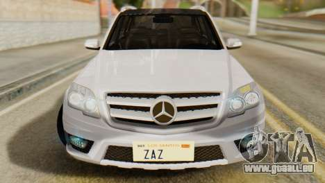 Mercedes-Benz GLK320 2012 pour GTA San Andreas vue de droite