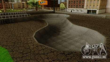 HD Skate Park pour GTA San Andreas troisième écran