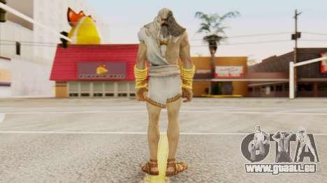 Zeus v2 God Of War 3 für GTA San Andreas dritten Screenshot