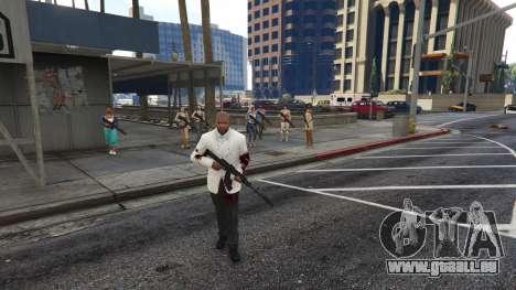 GTA 5 Bodyguard Menu 1.7 troisième capture d'écran