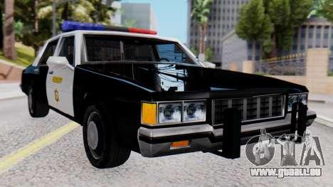 Chevrolet Caprice 1980 SA Style LVPD pour GTA San Andreas