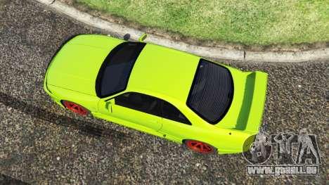 GTA 5 Nissan Skyline BCNR33 [Beta] Rückansicht