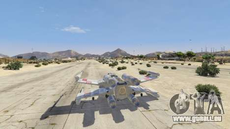GTA 5 Xwing-Hydra Hybrid vierten Screenshot
