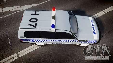 Toyota Land Cruiser 100 2005 Police [ELS] für GTA 4 rechte Ansicht