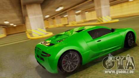 GTA 5 Adder pour GTA San Andreas laissé vue