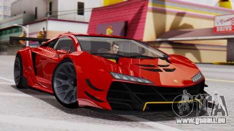Pegassi Zentorno SM GT3 pour GTA San Andreas