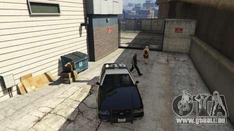 GTA 5 Arrest Peds V (Police mech and cuffs) sechster Screenshot