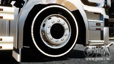 Scania R580 pour GTA 4 Vue arrière de la gauche