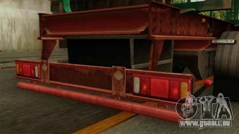 Trailer Cargos ETS2 New v1 für GTA San Andreas rechten Ansicht