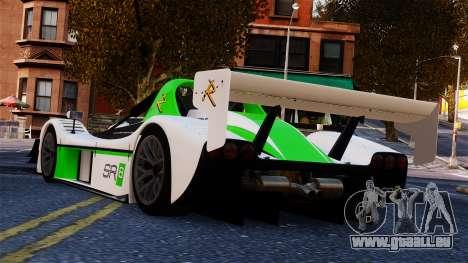 Radical SR8 RX 2011 pour GTA 4 est une gauche