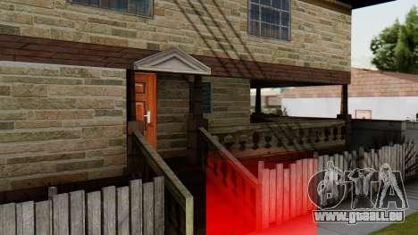 Le nouvel intérieur de la maison de CJ pour GTA San Andreas quatrième écran