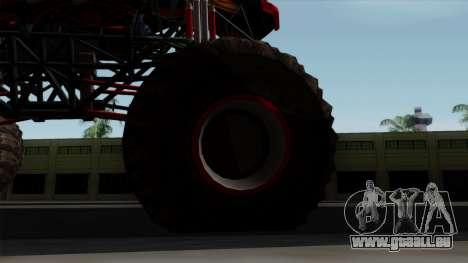 The Seventy Monster v2 pour GTA San Andreas vue arrière