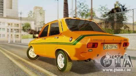 Renault 12 Gordini pour GTA San Andreas laissé vue