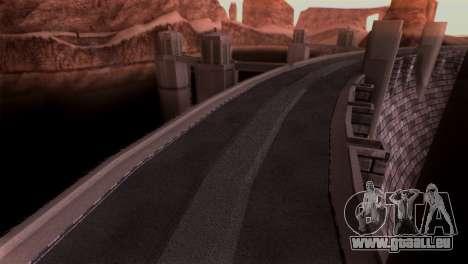 Vintage Texture pour GTA San Andreas troisième écran