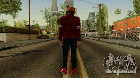 VanossGaming Skin pour GTA San Andreas troisième écran
