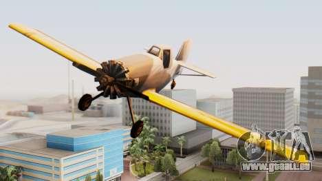 Cropduster Remake pour GTA San Andreas sur la vue arrière gauche