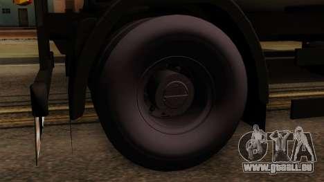 GTA 5 Fieldmaster Wood Trailer pour GTA San Andreas sur la vue arrière gauche