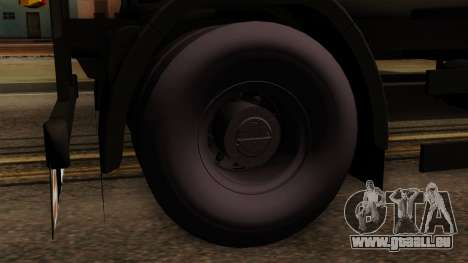 GTA 5 Fieldmaster Wood Trailer für GTA San Andreas zurück linke Ansicht
