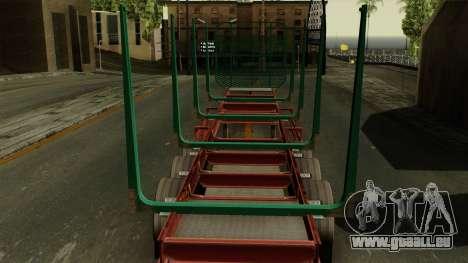 Trailer Cargos ETS2 New v1 pour GTA San Andreas vue arrière