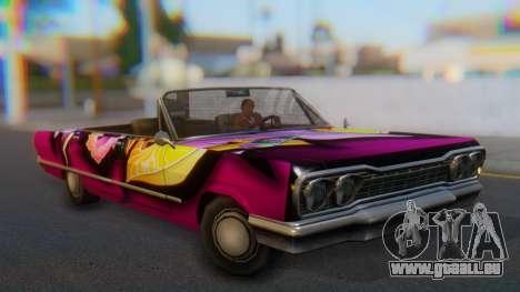 Savanna New PJ für GTA San Andreas rechten Ansicht