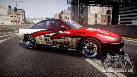 Nissan Silvia S14 Koni pour GTA 4 est une gauche