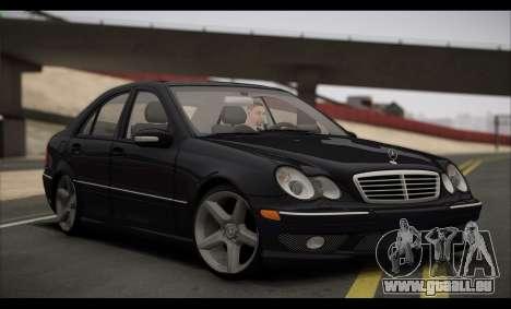 Mercedes-Benz C32 W203 2004 pour GTA San Andreas