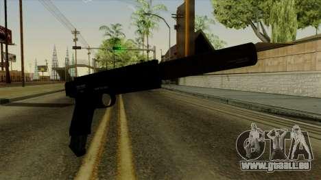 AP Pistol with Supressor pour GTA San Andreas