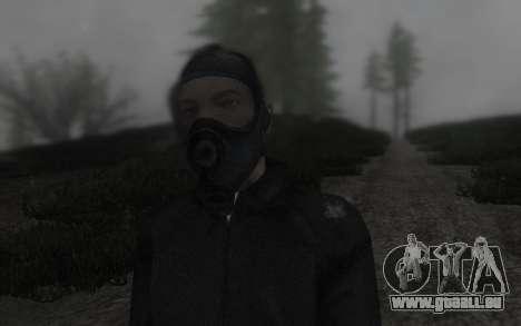 GTA5 Gasmask pour GTA San Andreas troisième écran