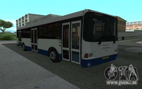 LiAZ 5293.70 pour GTA San Andreas