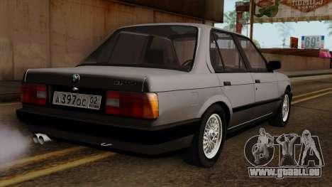 BMW 325i pour GTA San Andreas laissé vue