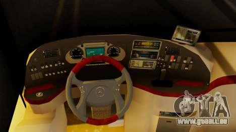 Mercedes-Benz Travego Abana Bozkurt Seyahat pour GTA San Andreas vue de droite